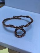 Copper Looped Torque Bracelet £17