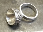 Silver Acorn Cup Ring £50