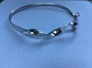 Sterling Silver uneven Twist Bracelet £22